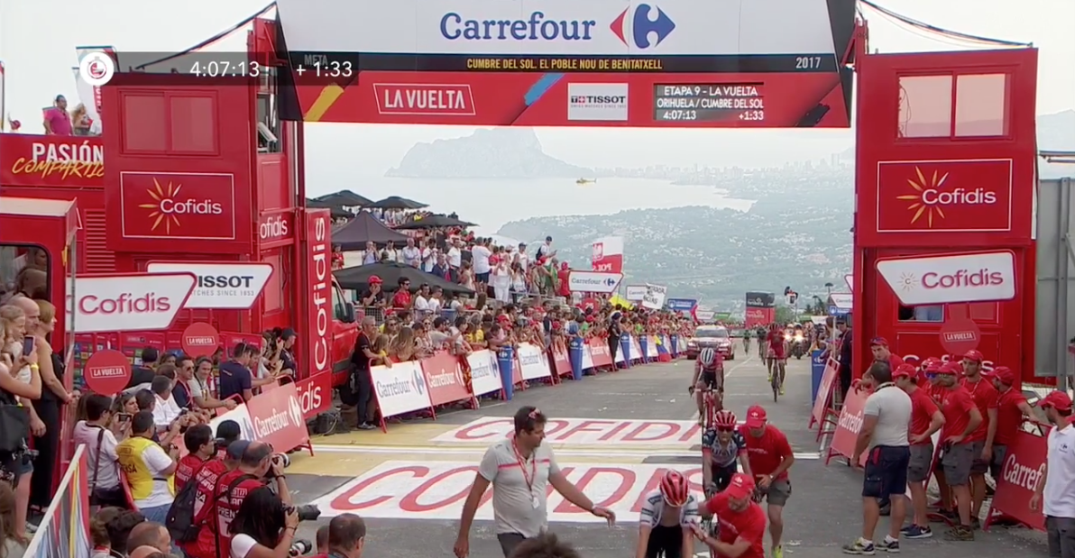 La Vuelta: Release the Carrefour men in red